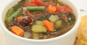 Daniel Fast soup that will warm you up!