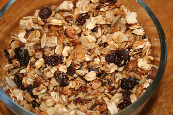 Just try to resist this granola