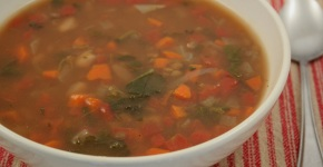 Daniel Fast Soup for a Rainy Day