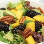 Blackberry, Avocado, and Mango Salad