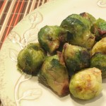 Broiled Brussels Sprouts